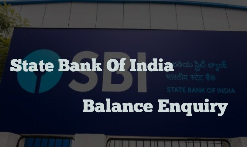 SBI Balance Enquiry