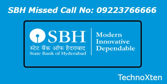 SBH Missed Call Bank Balance Check Number