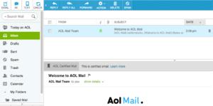 AOL Mail - os melhores serviços gratuitos de e-mail