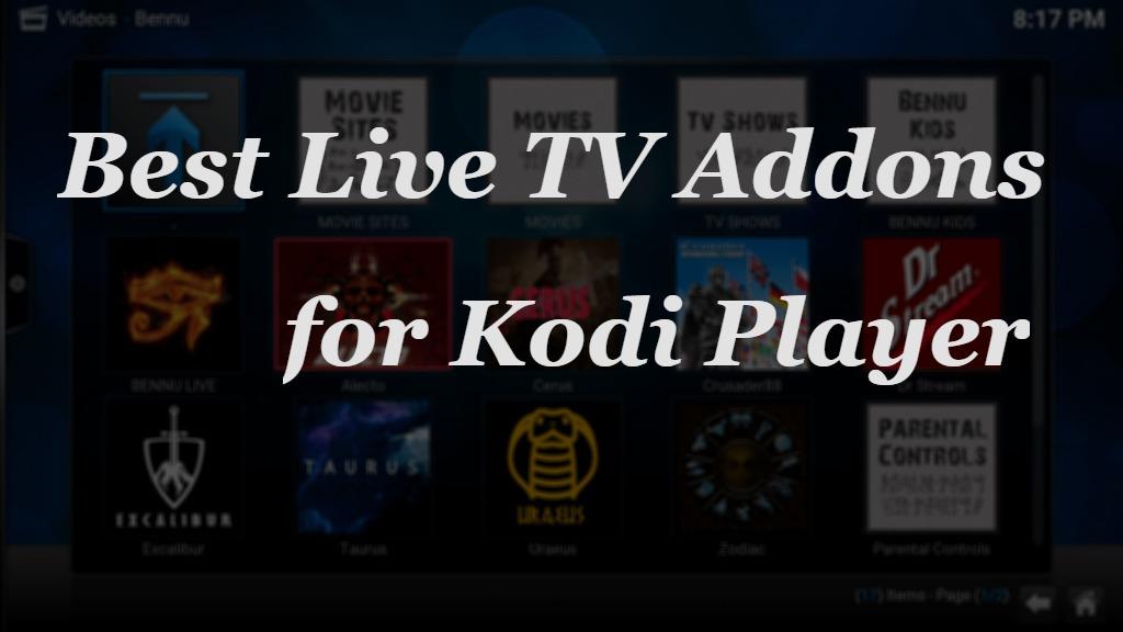 Best Live TV Addons for Kodi