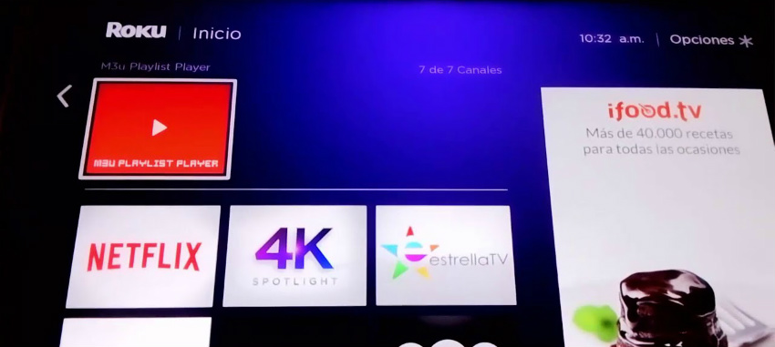 Setup IPTV for Roku