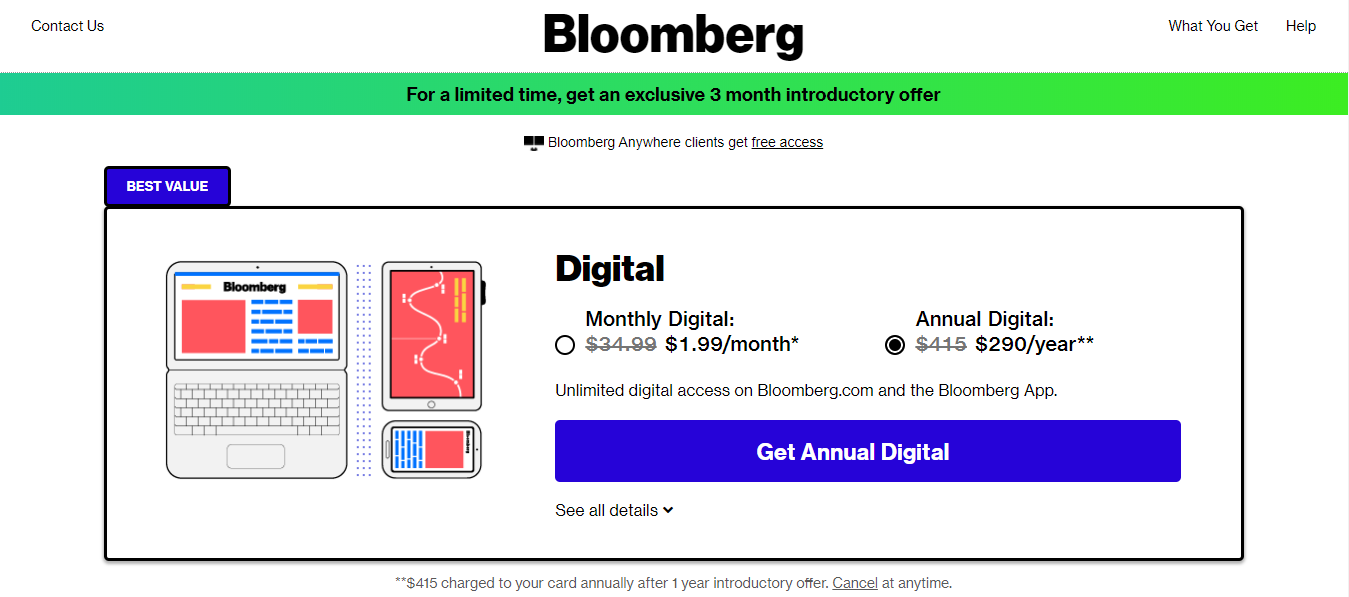 Stay Updated with Bloomberg Technology