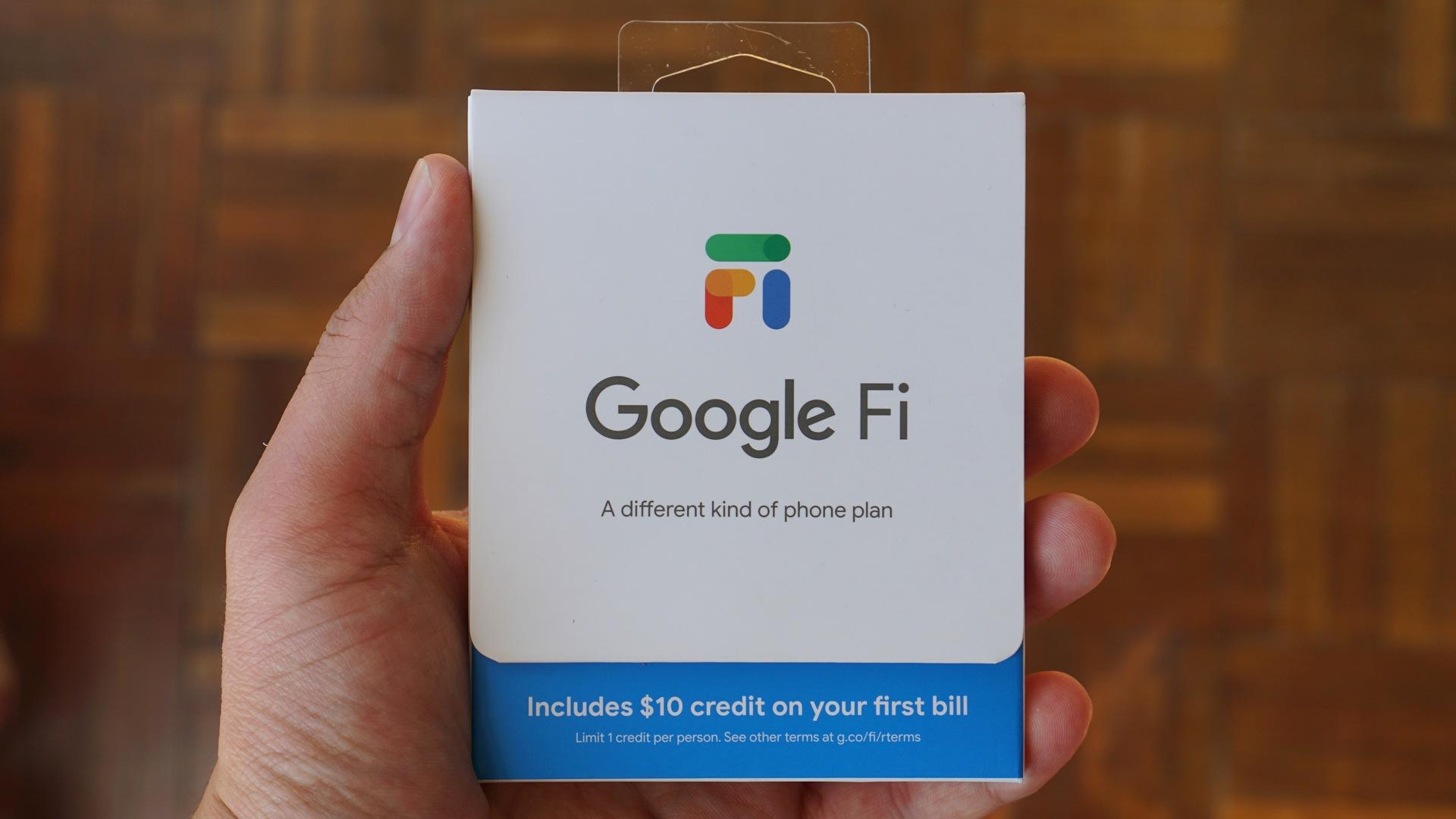 How a Google Fi SIM Works